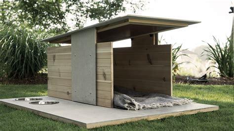 modern dog house plans puphaus a modern dog house from pyramd design co dog milk