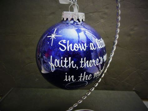 bruce springsteen custom 4 quot glass christmas ornament