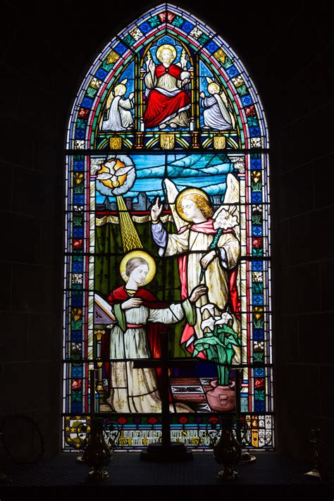 stained glass window stained glass in churches called
