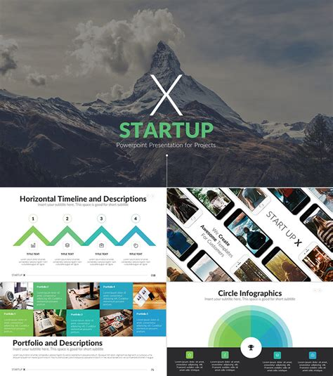 25 Awesome Powerpoint Templates With Cool Ppt Designs Codeholder Net Powerpoint Template Startup Pitch