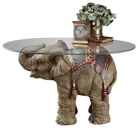 elephant table glass top elephant glass top coffee tables coffee table ideas