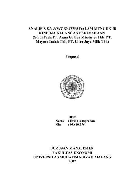 skripsi analisis layout ok contoh laporan analisis keuangan