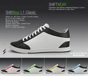 chagne color shoes indiegogo s shiftwear trainers change colour on demand