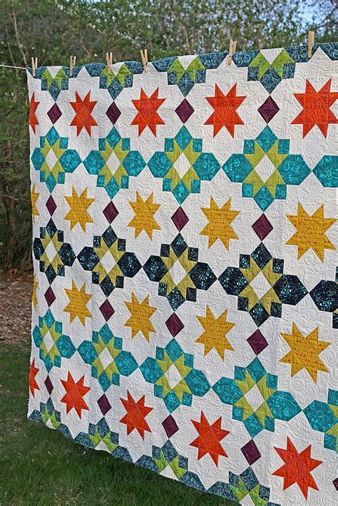 Another Word For Patchwork - moroccan lanterns quilt pattern by freshly pieced