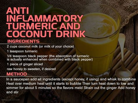 Anti Detox by Coconut Milk And Turmeric Recipe To Detox Organs And Fight