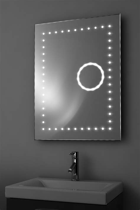 demisting bathroom mirror eclipse shaver 3x magnification led bathroom mirror with