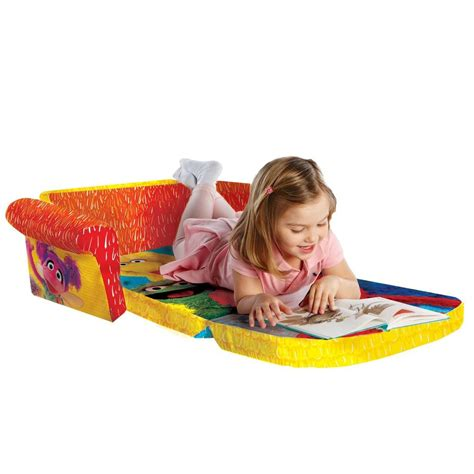elmo sofa spin master marshmallow furniture flip open sofa elmo