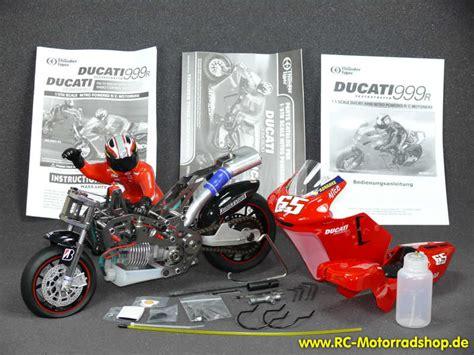 Rc Motorrad Verbrenner Bausatz by Rc Motorradshop De Thunder Tiger Fm 1n Ducati