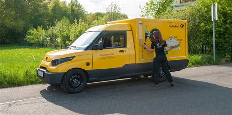 Dhl Auto by Deutsche Post Dhl Snubs Volkswagen By Revealing Its Own