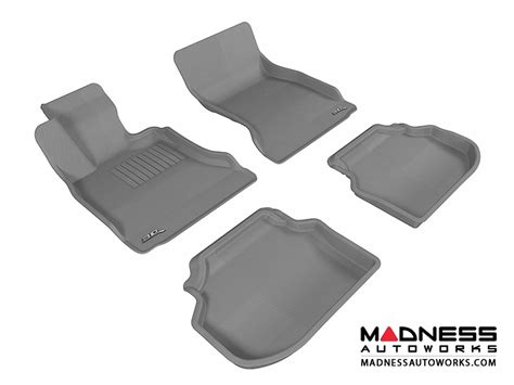 bmw bmw 5 series f10 floor mats set of 4 gray by
