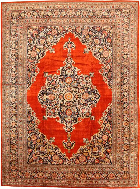 Fine Antique Persian Silk Tabriz Rug 7991 By Nazmiyal Rug Silk