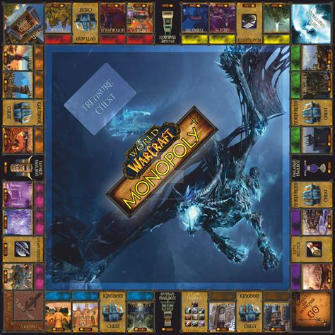 world of warcraft ultimate wow monopoly by gienek ultimate on