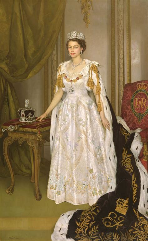 queen elizabeth 2 file queen elizabeth ii coronation portrait herbert james