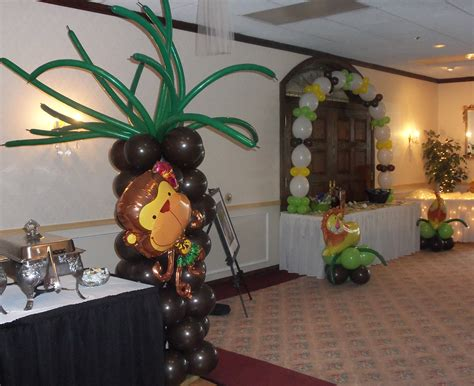 baby shower jungle theme decorations baby shower ideas on safari baby showers
