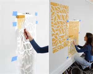 How To Prepare For Painting Walls Make A Statement With Stenciled Walls