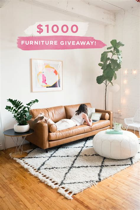 Furniture Giveaway by D E S I G N L O V E F E S T 187 Article Furniture Giveaway