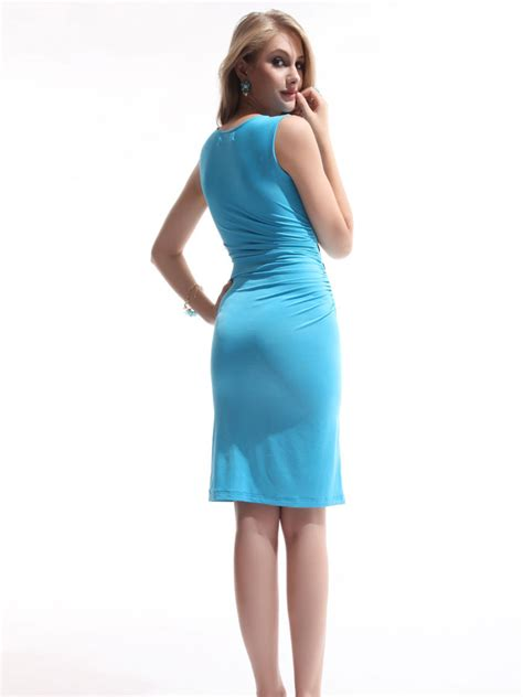 short light blue dresses for juniors v neck fitted blue short tight dresses for juniors v neck