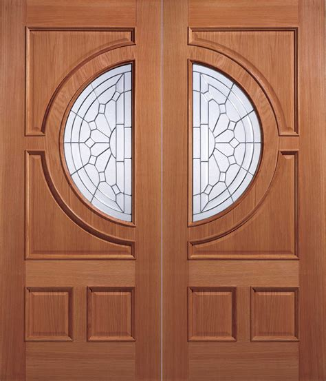 Empress Glazed External Hardwood Door Hardwood Front Doors Uk