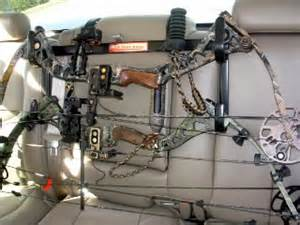 new seat rack gun bow holder for truck and suv