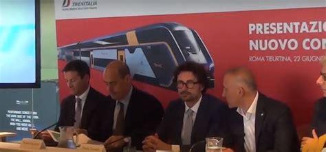 firmato il contratto di servizio tra trenitalia e regione
