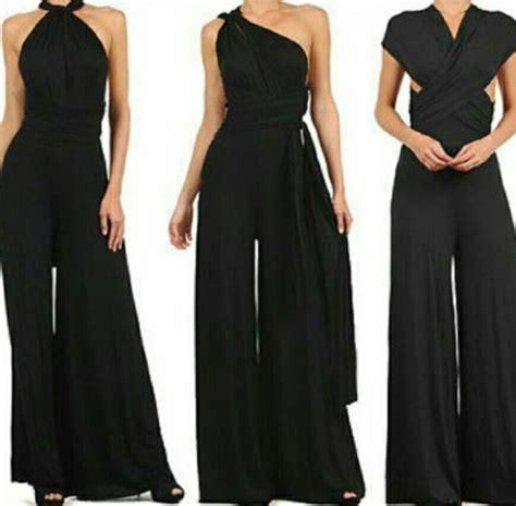 wedding jumpsuits for sale womens wedding multi way convertible wrap jumpsuit romper