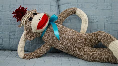 a sock monkey classic sock monkey professorpincushion professor