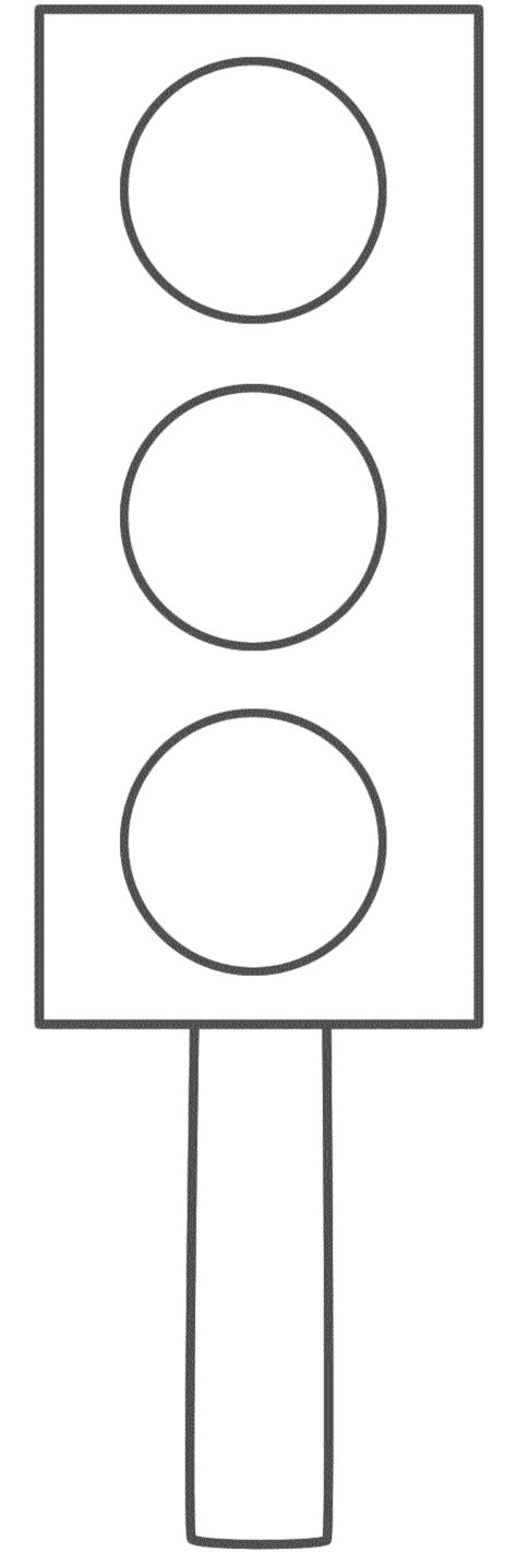 Blank Traffic Light Clipart Clipart Suggest Traffic Light Template