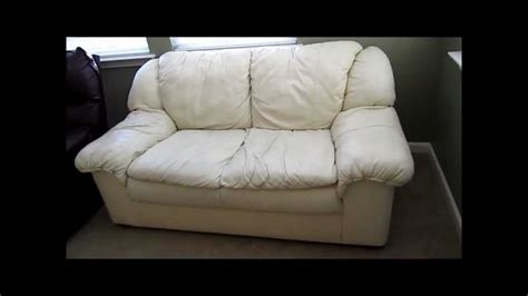 how to tell real leather couch review followup not all leather furniture are equal youtube