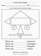 shapes and patterns worksheet for grade 1 math geometry worksheets for primary math students in