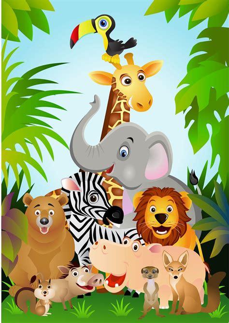 imagenes animales de la selva animados animales animados de la selva imagui