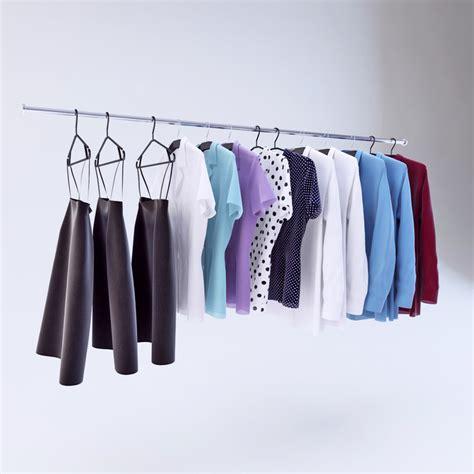 Hanger Zara Dewasa Model Polos clothes hangers 3d max