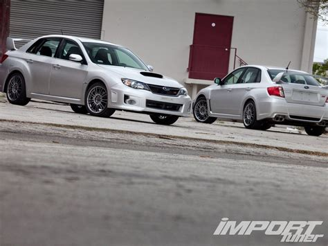 fast subaru wrx the cars of fast five import tuner magazine