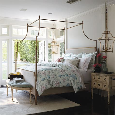 frontgate bed park lane canopy bed traditional canopy beds by