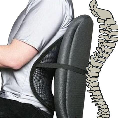 black cool air  mesh lumbar home office car seat chair  pain support ebay
