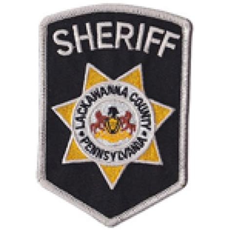 Lackawanna County Sheriff S Office by Deputy Sheriff Samuel Robert Lackawanna County