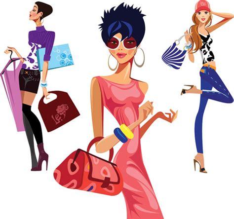 fashion illustration vector file vector fashion design elements set 11 vector