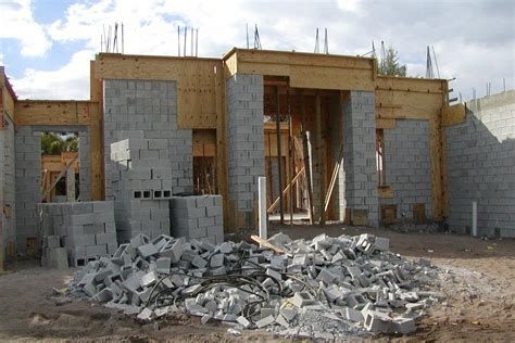 how to build a concrete block house how much will your new home cost