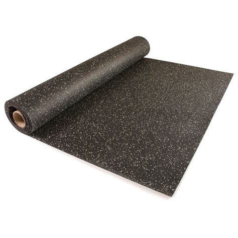 Rubber Flooring Rolls by Home Rubber Flooring Roll 4x10 Ft X 1 4 Inch Home