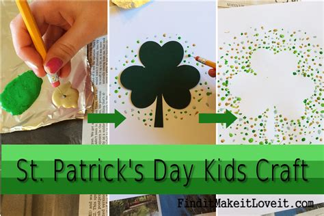 st patricks day kid crafts st s day craft find it make it it