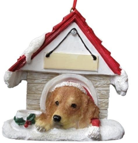 golden retriever house dog golden retriever dog house kerst ornament kerstdecoratie leuke hondenartikelen fanshop