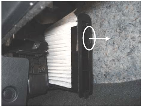 Nissan Versa Cabin Air Filter by 2007 2011 Nissan Versa In Cabin Micro Filter Replacement