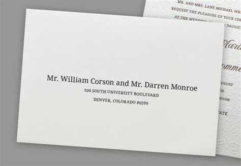 how to address a wedding invitation two married doctors 2 addressing wedding invitations to same couples