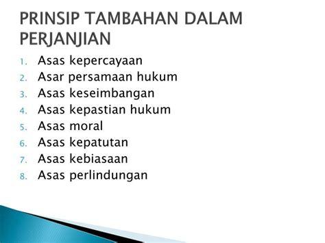 Azas Azas Hukum Perjanjian Asas Asas Hukum Perjanjian ppt hukum perjanjian powerpoint presentation id 3953612