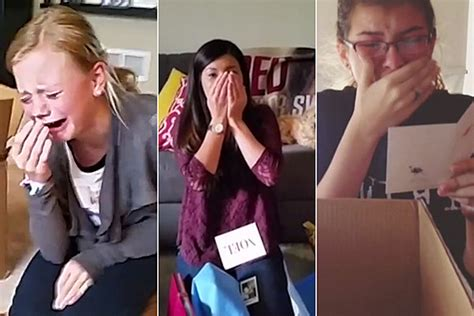 gifts for taylor swift fans taylor swift surprises fans with gifts makes them all cry