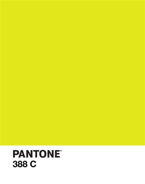 pantone yellow pantone 388 c color yellow green design d e s i g
