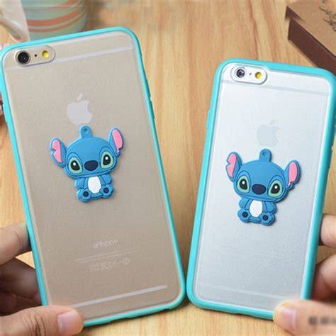 Casing Cover Iphone 6 Plus 6 Soft Burung Merak Bling 3d stitch soft tpu frame rubber cover for apple iphone 6 plus 4 7 quot 5s ebay