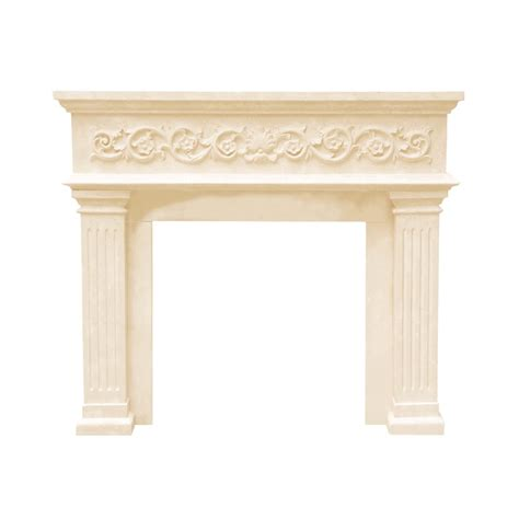 fireplace mantels at lowes historic mantels dm11000 designer series michael angelo