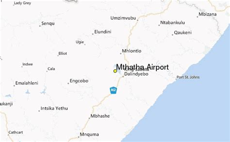 mthatha airport weather station record historical