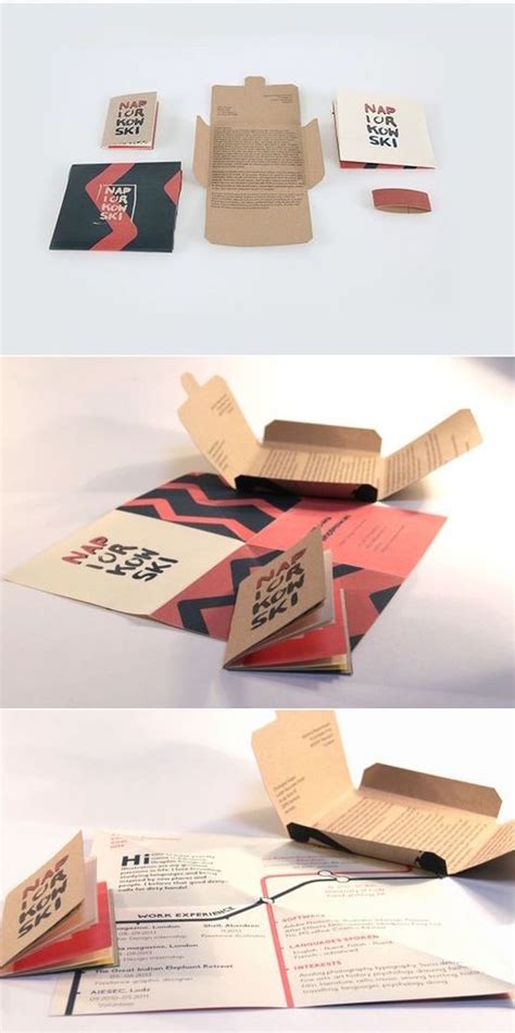 Origami Cv - reinventing the origami style