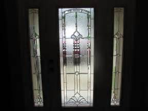 beveled glass door panels main